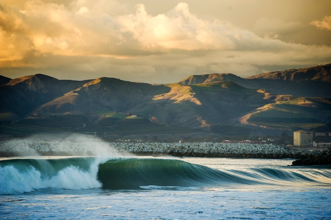 Surf break in Ventura. Photo: Dylan Gordon.